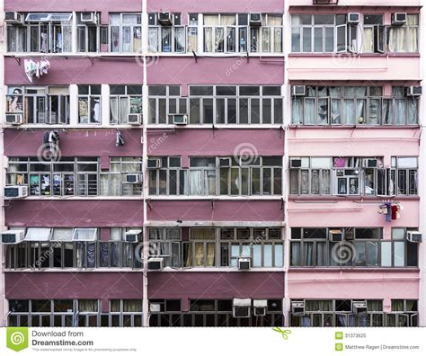 hong kong apartments stock image image of flats
