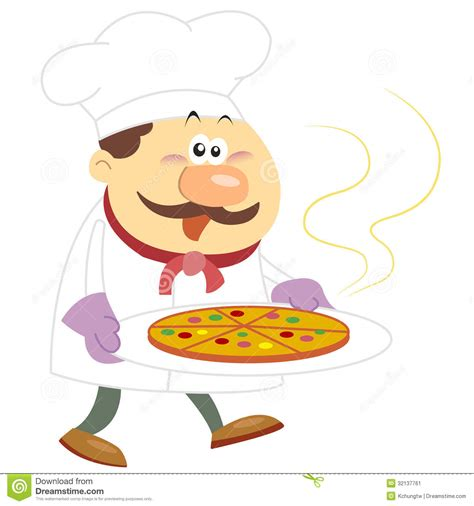 cook with cook with white background stock vector image