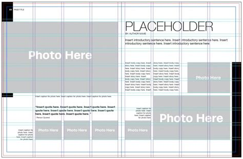 5 Steps To Yearbook Page Layout Yearbook Page Template