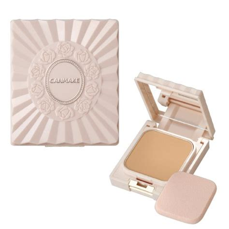 Canmake Blessed Foundation 02 canmake blessed powder uv absorber free tale free silicon free