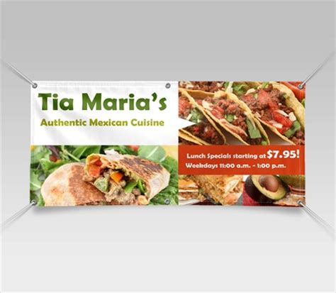 design banner cafe restaurant banners cafe banners signazon com