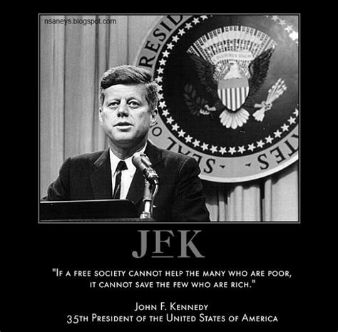 Jfk Meme - political memes john f kennedy help the poor quote