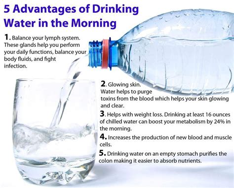 should i drink water before bed 5 reasons you should drink water first thing in the