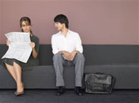 black couch interviews business people waiting job interview stock photos images