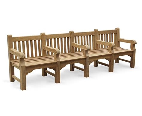 heavy duty park benches balmoral large heavy duty park bench with 5 arms 3m
