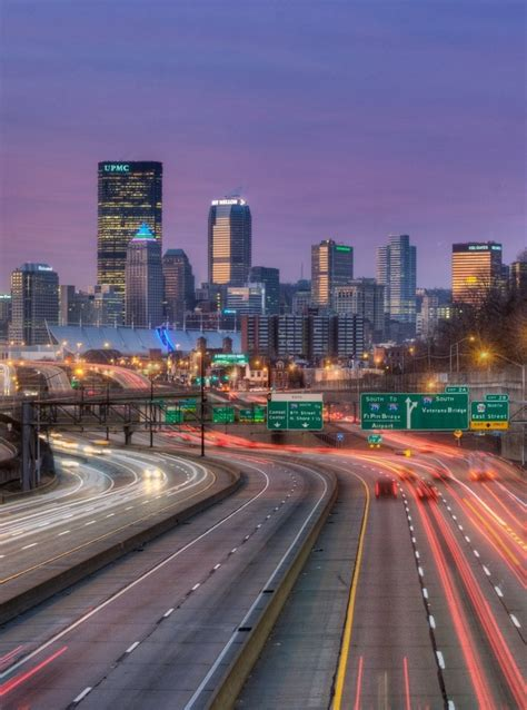 swing city pittsburgh view of downtown pittsburgh from i376 east great photo