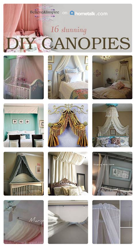 Southern Home Decor Blogs 16 diy canopies to make sew some stuff
