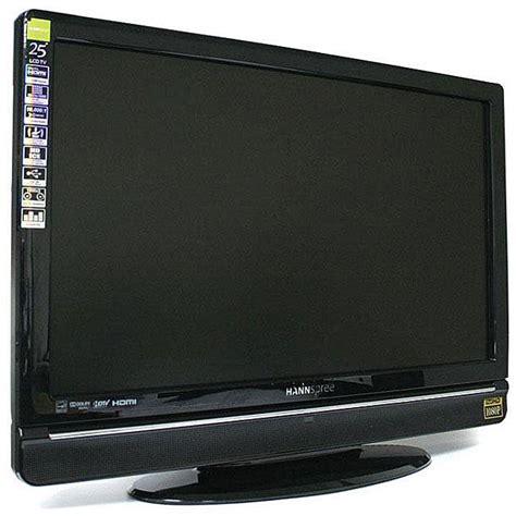 hannspree st259mubufh3s 25 inch 1080p lcd hdtv refurbished 13277840 overstock com shopping