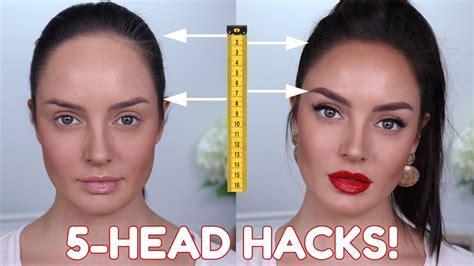 big forehead beauty hacks  tips tricks
