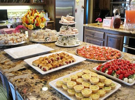 Brunch Finger Foods For Baby Shower by Finger Desserts For Baby Shower Pictures To Pin On