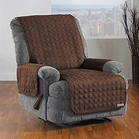 recliner covers at bargain prices zwc waterproof microsuede solid mini cube quilting