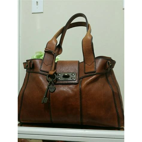 Fossil Totebag 67 fossil handbags fossil vintage tote bag from