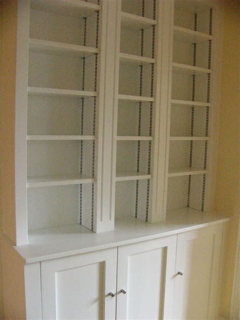 built  bookcases  cabinet bottoms home decor