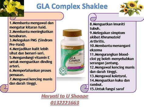 Vitamin Gla Complex Vitamin Yati Gla Complex Shaklee Kelebihan Dan Kebaikan