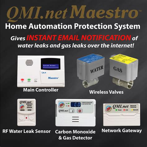 gas leak detector water leak detection qmi