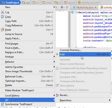 tutorial git add android tutorial how to use github with android studio