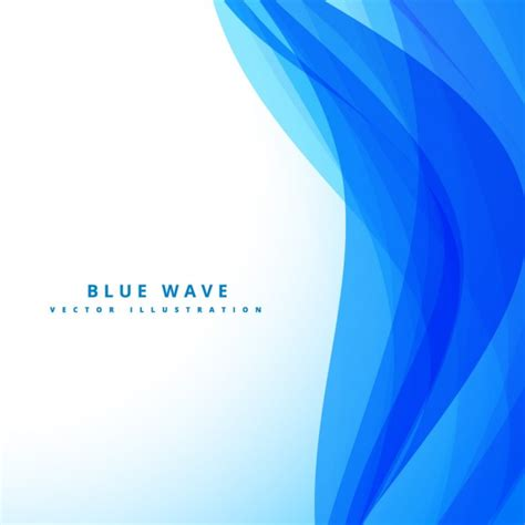 backdrop wave design abstract backdrop with blue waves vector free download