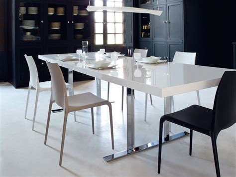cineline dining table by ligne roset contemporary dining room