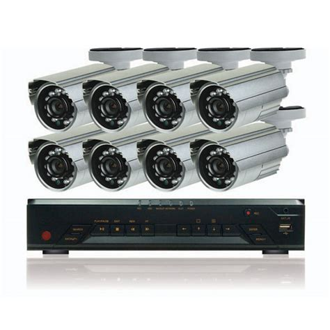 8 surveillance kit with dvr diy surveillance pro