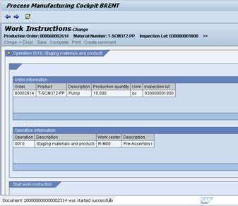 sap xsteps tutorial going paperless with sap production orders sap blogs
