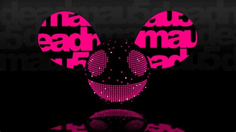 mouse house music deadmau5 dedmaus dj cj progressive house electro house logo music background smile
