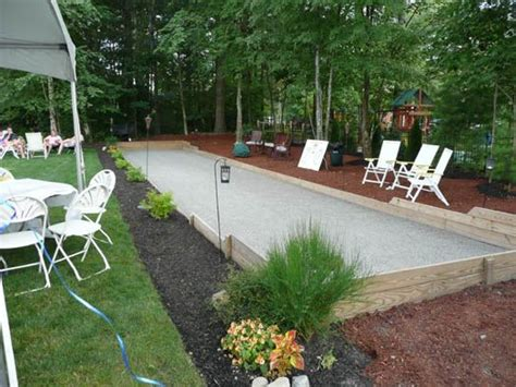 build a bocce court in backyard 25 best ideas about bocce ball court on pinterest bocce