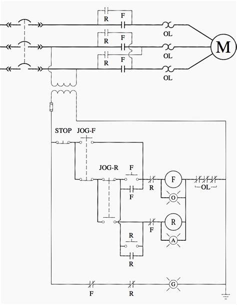 magnetic motor starter wiring diagram wiring