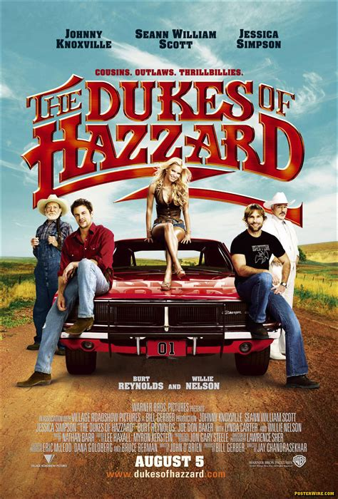 duke the the dukes of hazzard posterwire