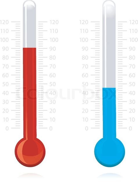 Termometer General Care illustration of vector thermometer on isolated background