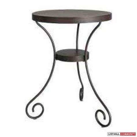 metal side table ikea black ikea side table goodies list4all