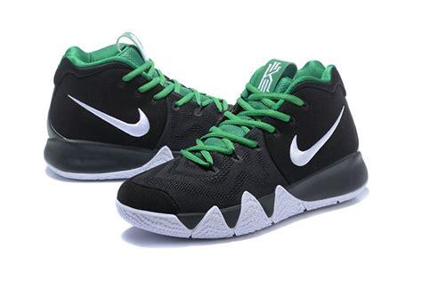 nike green and white basketball shoes nike kyrie 4 black white green 2018 basketball shoes cheap