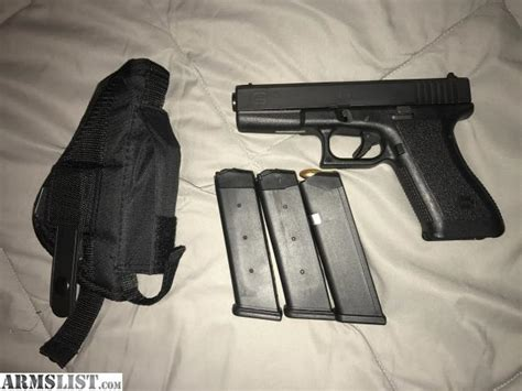 Holster Glock 17 Pobus armslist for sale trade glock 17 2 with 3 mags plus holster