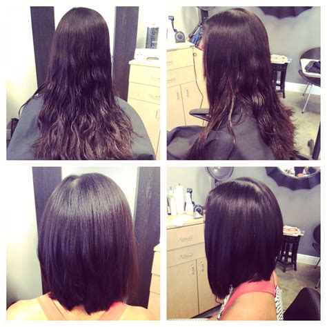 long tapered bob haircuts pictures of long reverse bobs hairstylegalleries com