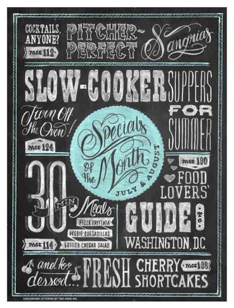chalkboard poster template 22 awesome chalkboard typography arts web graphic design bashooka