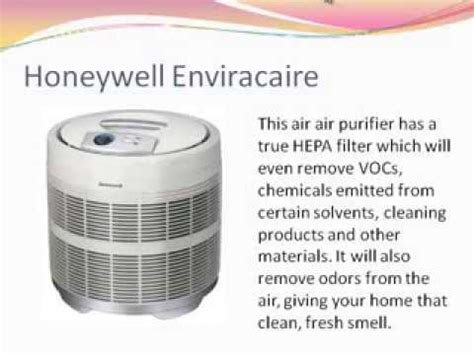 honeywell enviracaire 50250 s hepa air purifier review