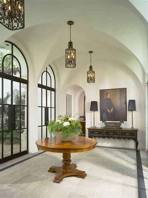 Spanish Style Chandelier Mediterranean Entry Ideas An Air Of Timeless Majesty