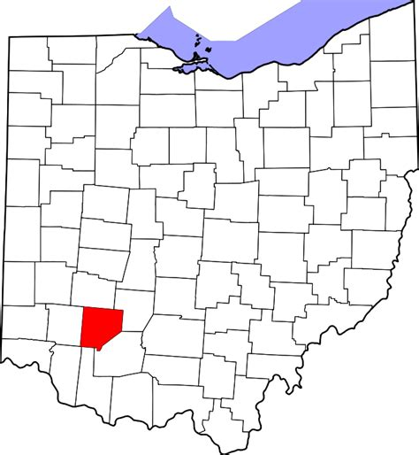 file map of pennsylvania highlighting clinton county svg file map of ohio highlighting clinton county svg wikimedia commons