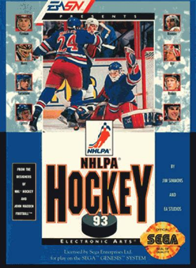 sega genesis hockey nhl hockey 92 u h1c sega rom complete roms