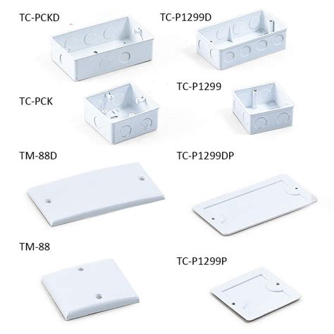 electrical accessories trust plastic boxes covers wires utp cables