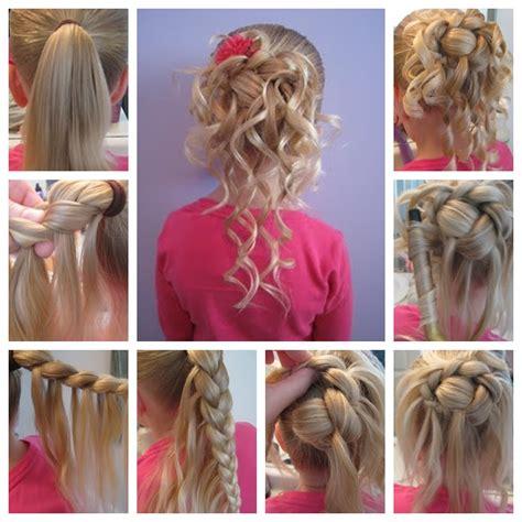 hairstylevido in wonderful diy elegant bow braided hairstyle