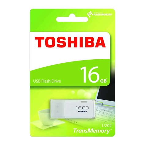 Flash Memory Toshiba Toshiba Transmemory Usb 2 0 Flash Drive 16gb 7dayshop