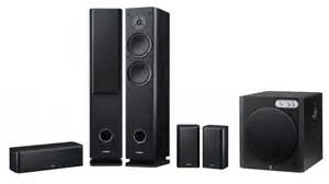 yamaha home theater speakers yamaha 5 1 home theater speaker package kenabuy electronics