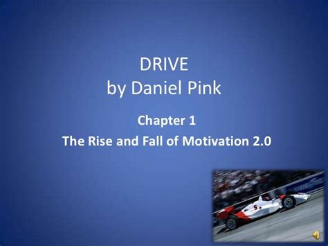 Daniel Pink The Mfa Is The New Mba Pdf by Drive Chapter 1 Ppshow