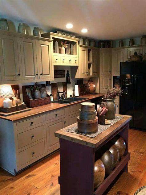 362 Best Images About Primitive Kitchens On Pinterest Primitive Kitchen Designs