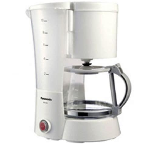 Watt Coffee panasonic nc gf1wsh 10 cup 800 watt coffee maker 220 volts