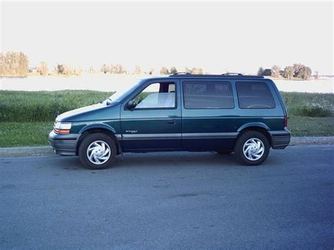 how cars run 1994 plymouth grand voyager regenerative braking numero3 1994 plymouth voyager specs photos modification info at cardomain
