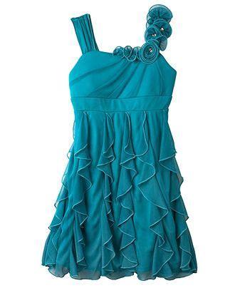Bcxs Dresss Cascade Dress Kidss