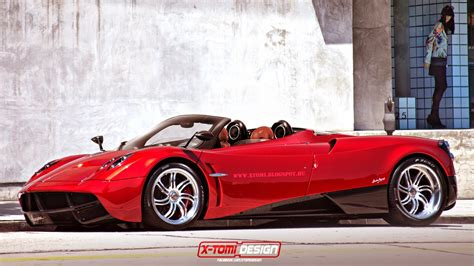pagani huayra roadster rendered can t come soon enough
