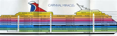carnival cruise ship floor plans carnival cruise glory ship deck plans awesome punchaos com