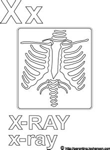 free printable x ray coloring pages x ray coloring pages coloring pages
